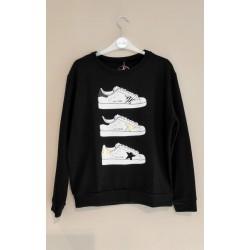 Tee Time 42921 sneakers nero